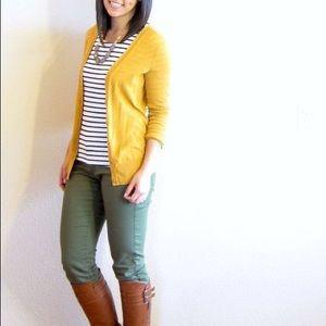 Yellow Mustard Cardigan